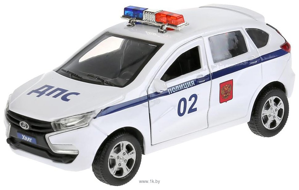 Фотографии Технопарк Lada Xray Полиция XRAY-12POL-WH