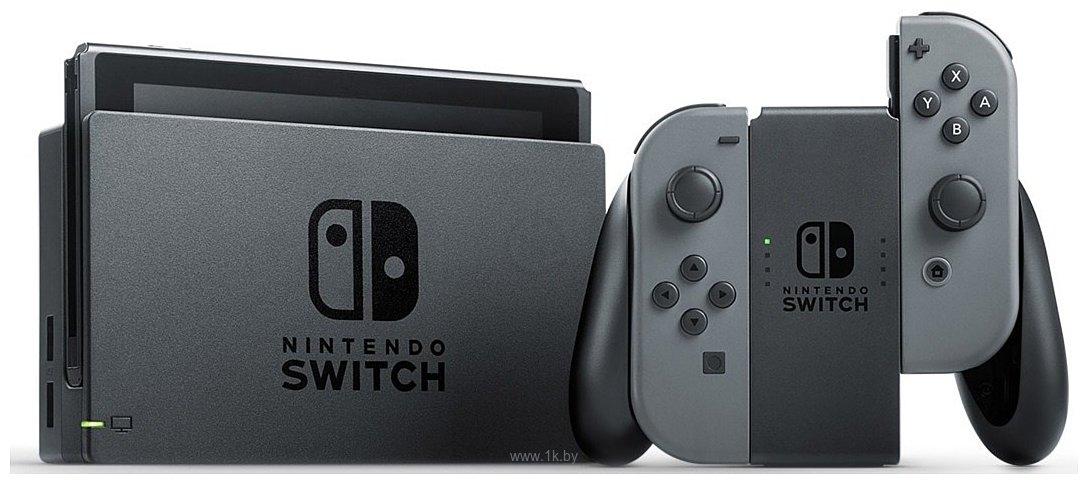 Фотографии Nintendo Switch (с серыми Joy-Con)