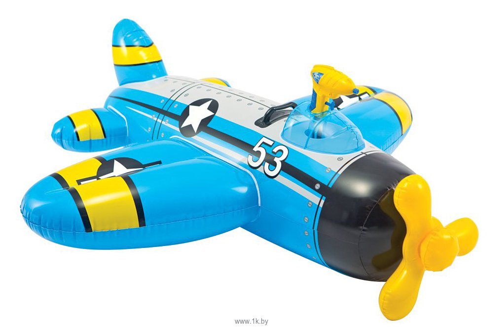 Фотографии Intex Water Gun Plane (синий) (57537)