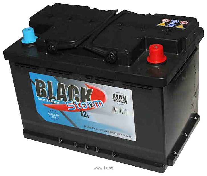 Фотографии AutoPart Black Storm 6 СТ-88L (88 А·ч)