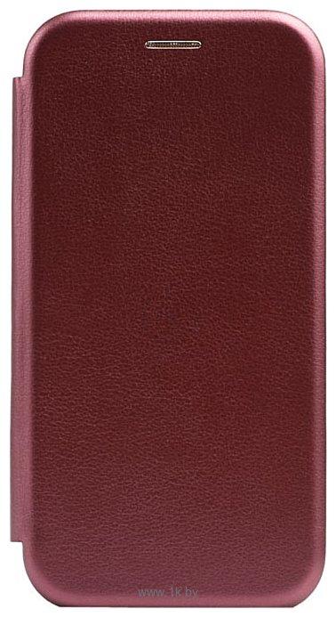 Фотографии EXPERTS WINSHELL BOOK CASE для Huawei P40 Lite E/Y7p (бордовый)