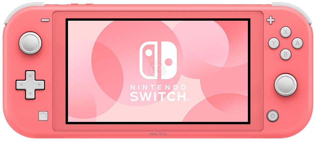 Фотографии Nintendo Switch Lite + Animal Crossing: New Horizons + 3 мес. NSO