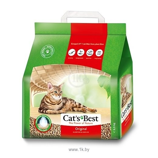 Фотографии Cat's Best Original  40л