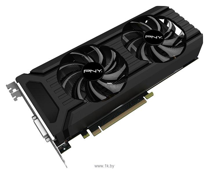 Фотографии PNY GeForce GTX 1060 1506MHz PCI-E 3.0 3072MB 8000MHz 192 bit DVI HDMI HDCP Dual Fan