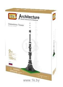 Фотографии LOZ Architecture 9362 Останкинская Башня