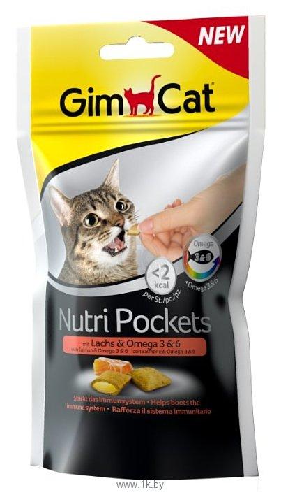 Фотографии GimCat Nutri Pockets с лососем и Омега 3 и 6