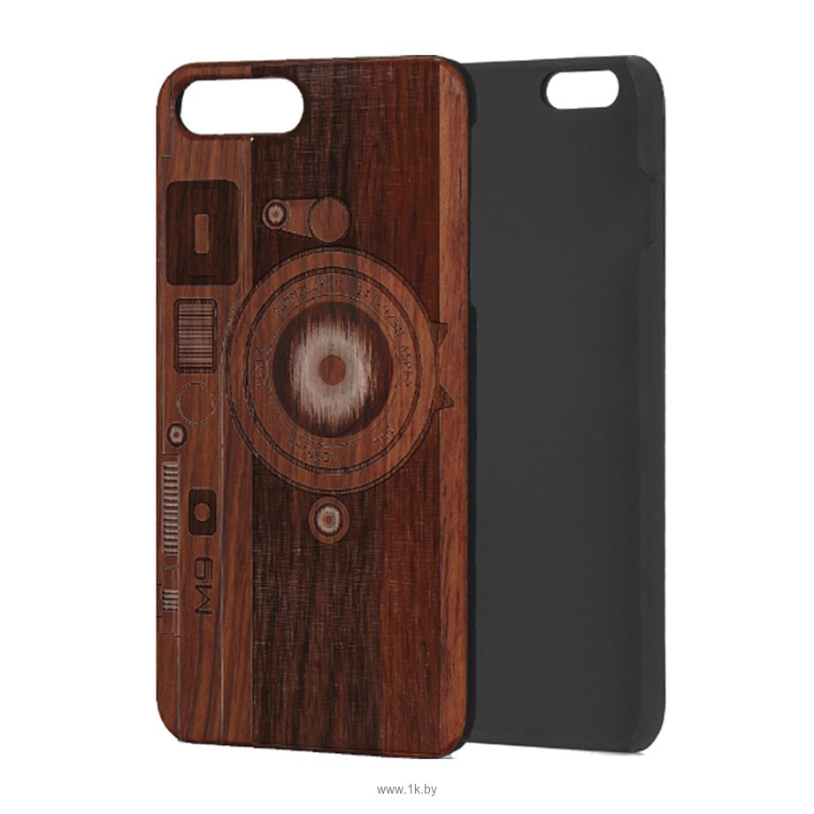 Фотографии Case Wood для Apple iPhone 7/8 (палисандр, фотоаппарат)