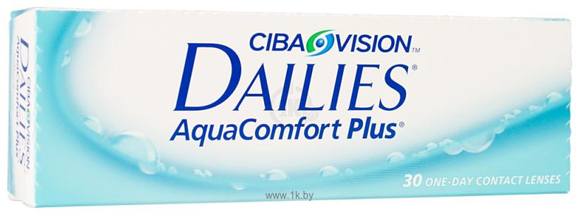 Фотографии Ciba Vision Dailies AquaComfort Plus (от -6.5 до -10.0) 8.7mm