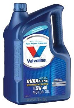 Фотографии Valvoline DuraBlend Diesel 5W-40 5л