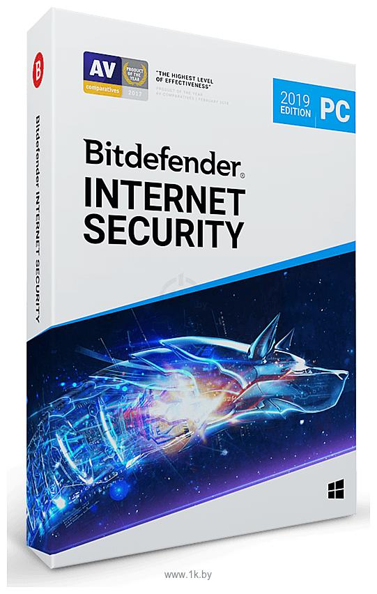 Фотографии Bitdefender Internet Security 2019 Home (1 ПК, 1 год, полная версия)