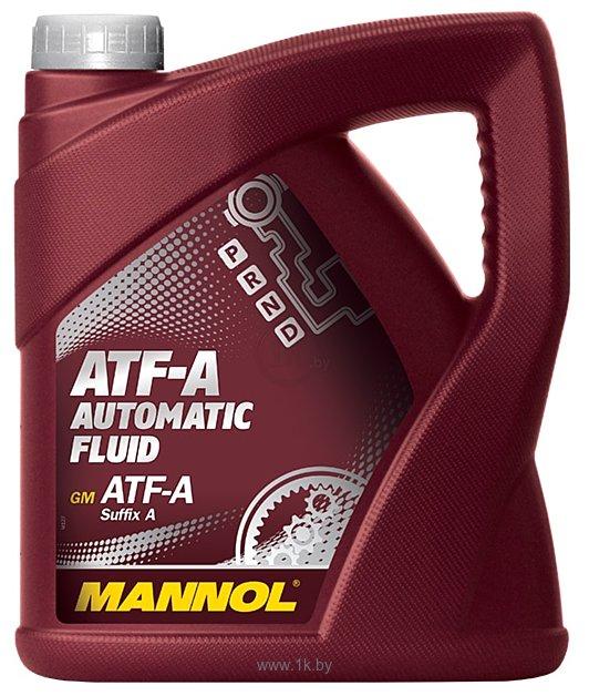 Фотографии Mannol ATF-A Automatic Fluid 4л
