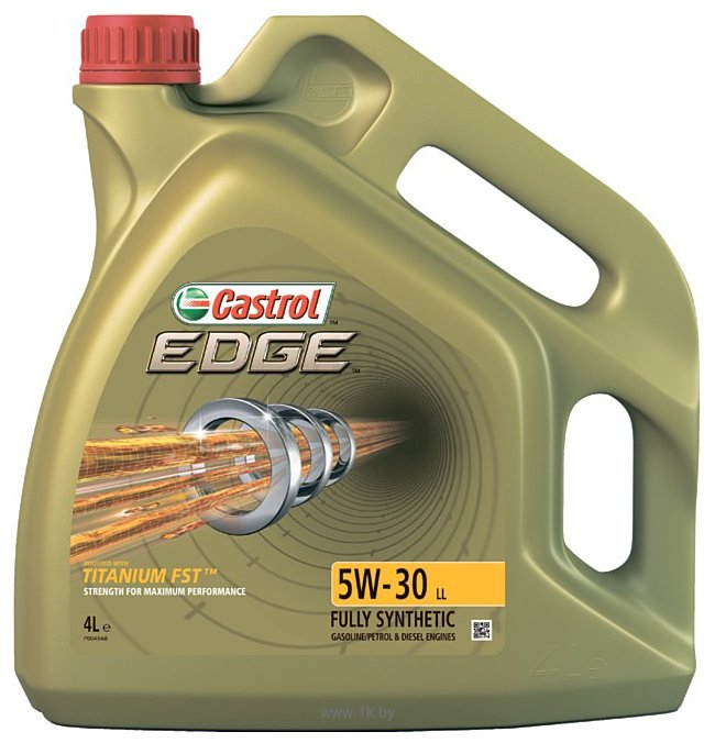 Фотографии Castrol EDGE 5W-30 LL 4л