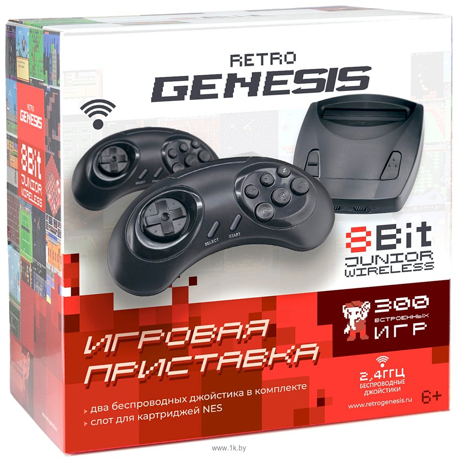 Фотографии Retro Genesis 8 Bit Junior Wireless (300 игр)