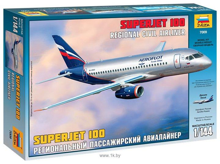 Фотографии Звезда Региональный пассажирский авиалайнер Superjet 100