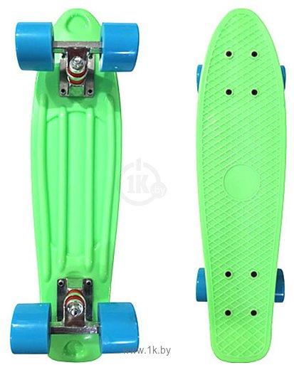 Фотографии Display Penny Board Light green/blue