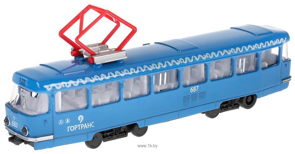 Фотографии Технопарк Трамвай CT12-463-2-BL-WB