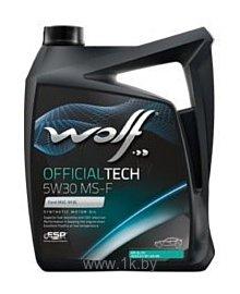 Фотографии Wolf Official Tech 5W-30 MS-F 5л