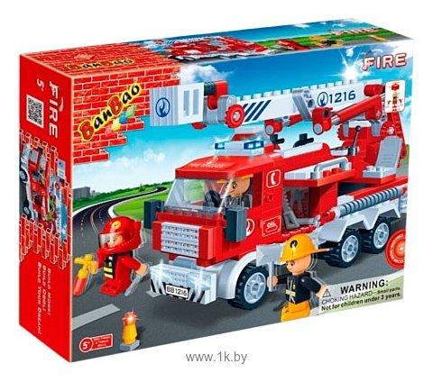 Фотографии BanBao Пожарные 8313 Fire Truck