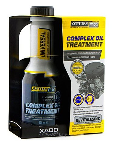 Фотографии Xado AtomEx Complex Oil Treatment 250ml