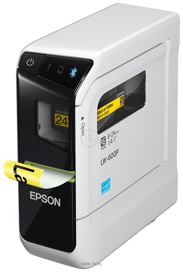 Фотографии Epson LabelWorks LW-600P