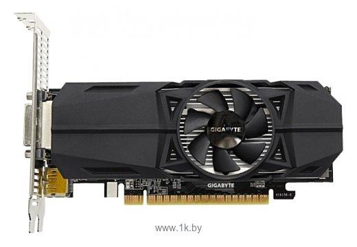 Фотографии GIGABYTE GeForce GTX 1050 1392Mhz PCI-E 3.0 2048Mb 7008Mhz 128 bit DVI 2xHDMI HDCP OC Low Profile