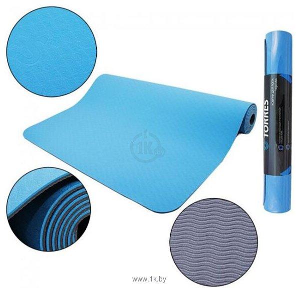 Фотографии Torres Comfort 6 YL10086 (синий/серый)