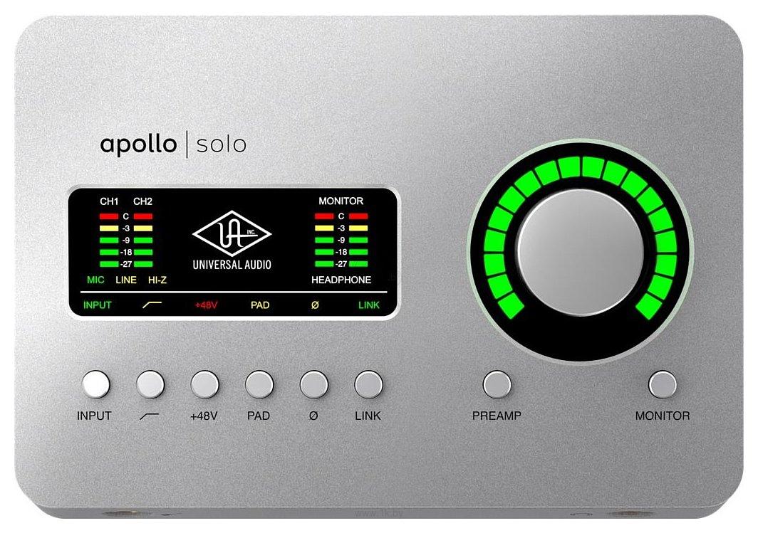Фотографии Universal Audio Apollo Solo Heritage Edition