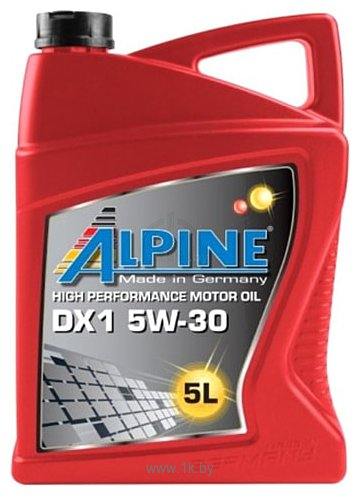 Фотографии Alpine DX1 5W-30 5л