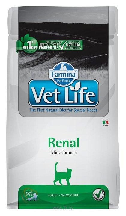 Фотографии Farmina Vet Life Feline Renal (0.4 кг)