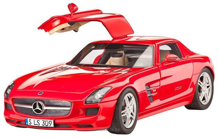 Фотографии Revell 07100 Автомобиль Mercedes SLS AMG