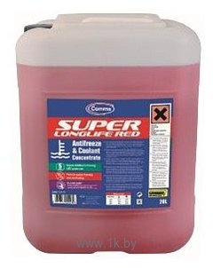 Фотографии Comma Super Longlife Red - Antifreeze 20л