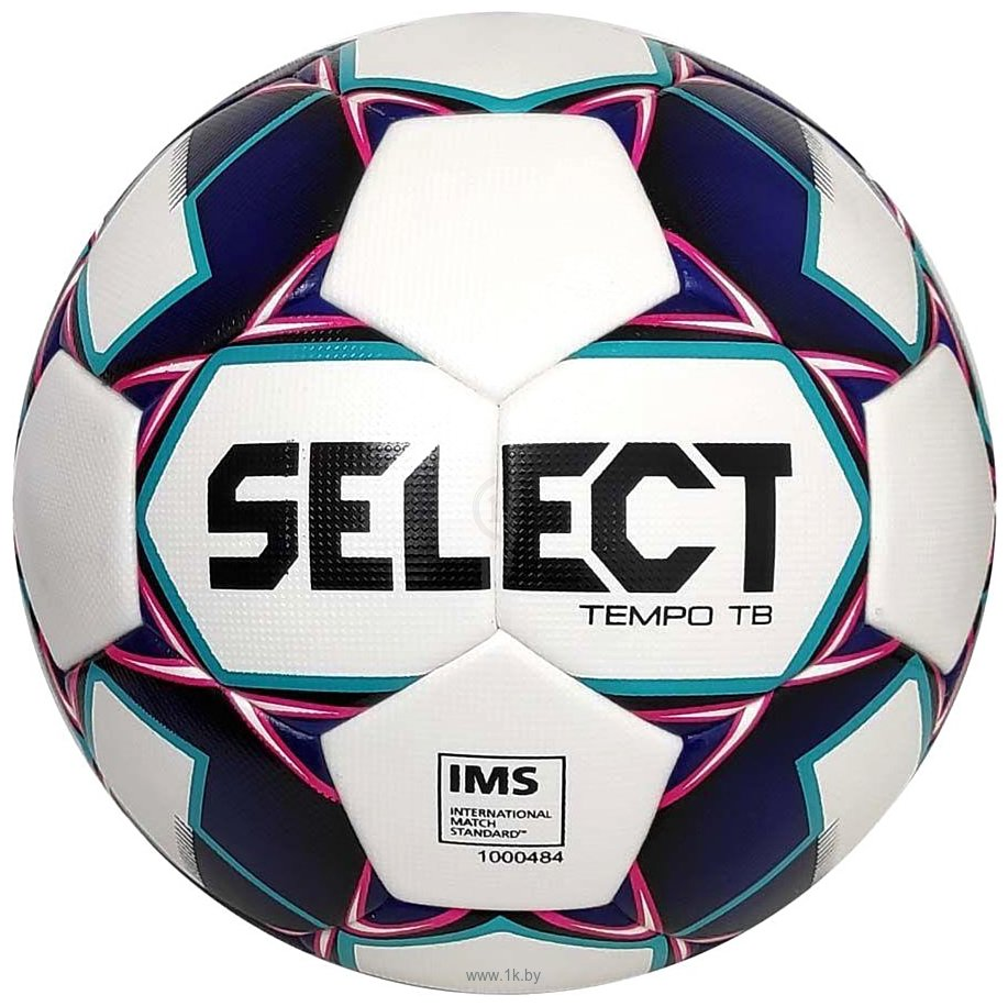 Фотографии Select Tempo TB IMS (5 размер, белый/темно-синий/розовый)