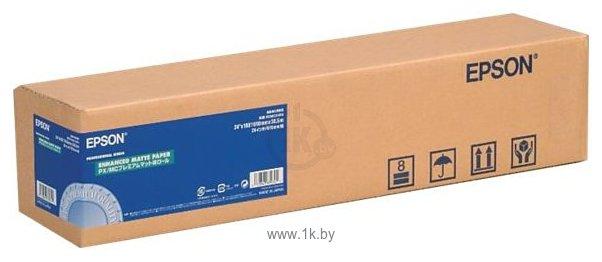 Фотографии Epson Enhanced Matte Paper 432 мм х 30.5 м (C13S041725)