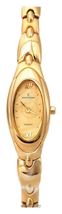 Часы женские Q&Q. женские часы. Romanson RM2126L-G_gold