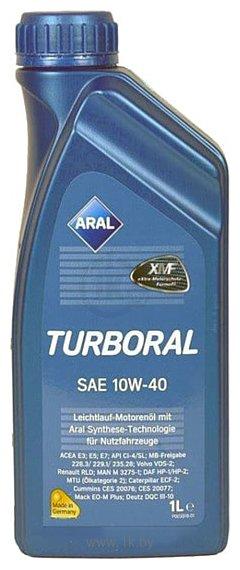 Фотографии Aral Turboral 10W-40 1л