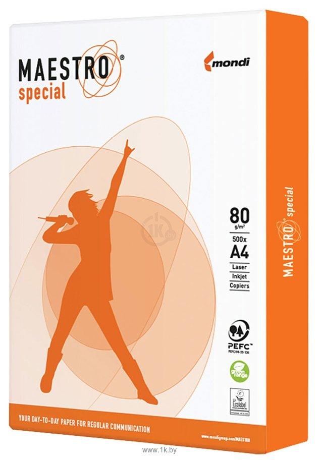Фотографии Maestro Special A4 80 г/м2 500 листов