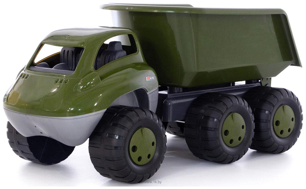 Фотографии Полесье Дакар автомобиль-самосвал военный с прицепом РБ 49292