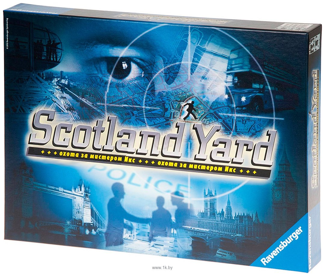 Фотографии Ravensburger Scotland Yard (Скотланд Ярд)