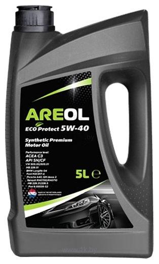 Фотографии Areol Eco Protect 5W-40 5л