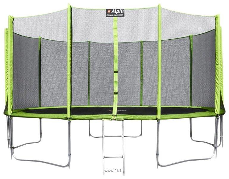 Фотографии Alpin 4.35 м с защитной сеткой и лестницей