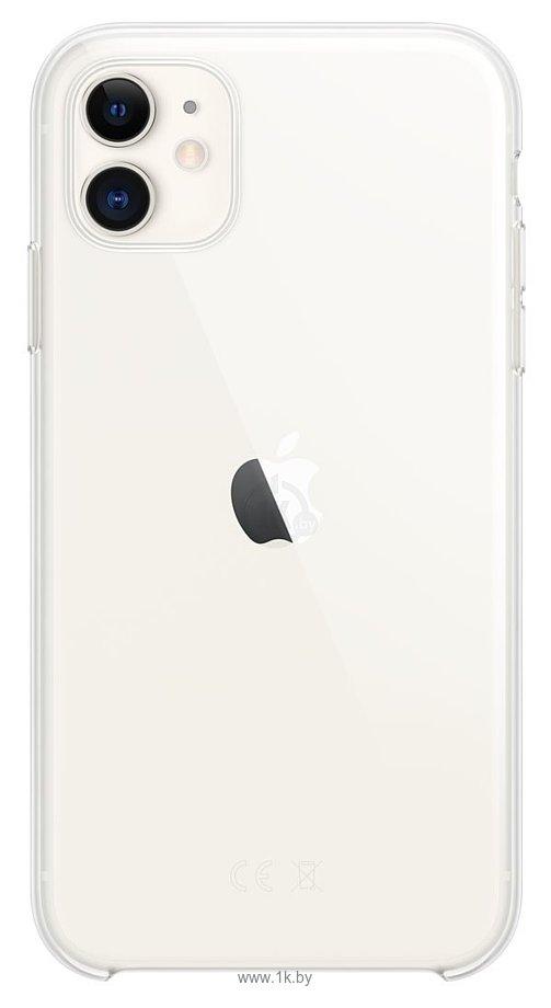 Фотографии Apple Clear Case для iPhone 11 (прозрачный)