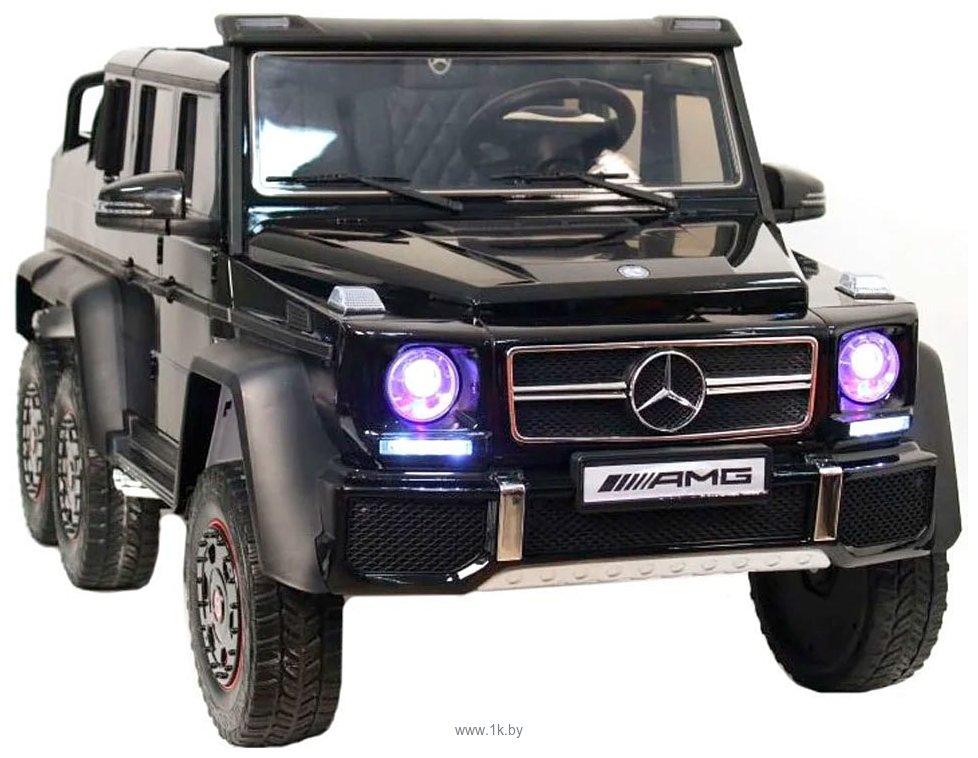 Фотографии RiverToys Mercedes-Benz G63 AMG 4WD X555XX (черный)