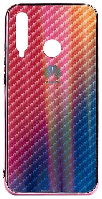 Фотографии EXPERTS Aurora Glass для Honor 10i с LOGO (розовый)