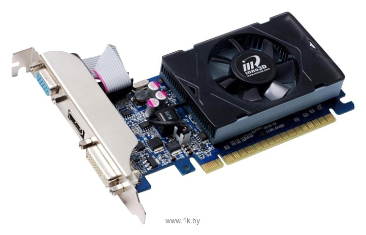 Фотографии Inno3D GeForce GT 730 700Mhz PCI-E 2.0 2048Mb 1066Mhz 128 bit DVI HDMI HDCP