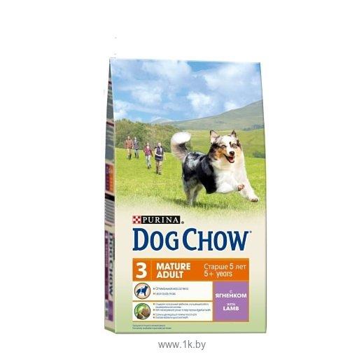 Фотографии Purina Dog Chow Adult Mature ягненок 14 кг