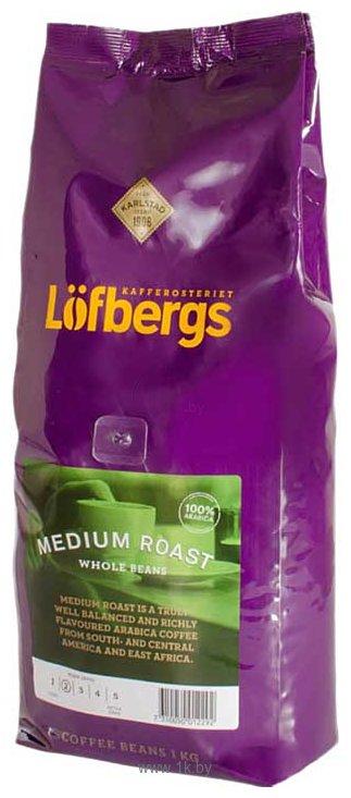 Фотографии Lofbergs Lila Medium Roast в зернах 1000 г