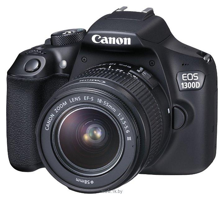 Фотографии Canon EOS 1300D Kit