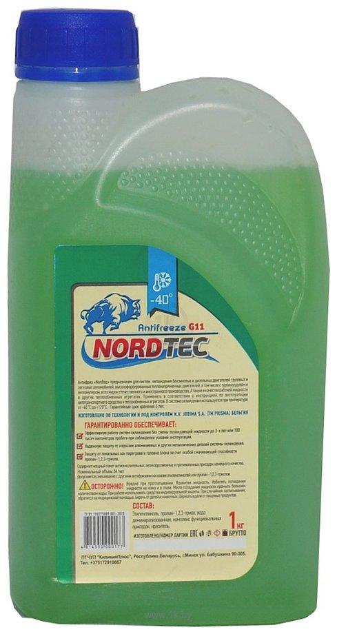 Фотографии NordTec Antifreeze-40 G11 зеленый 1кг