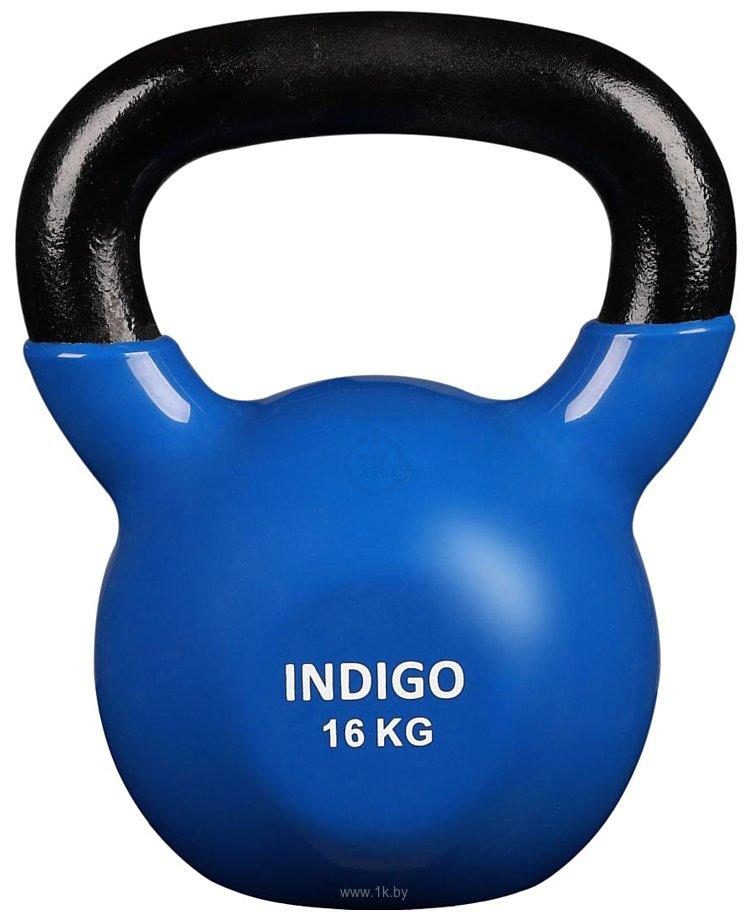 Фотографии Indigo IN132 16 кг (черный/синий)