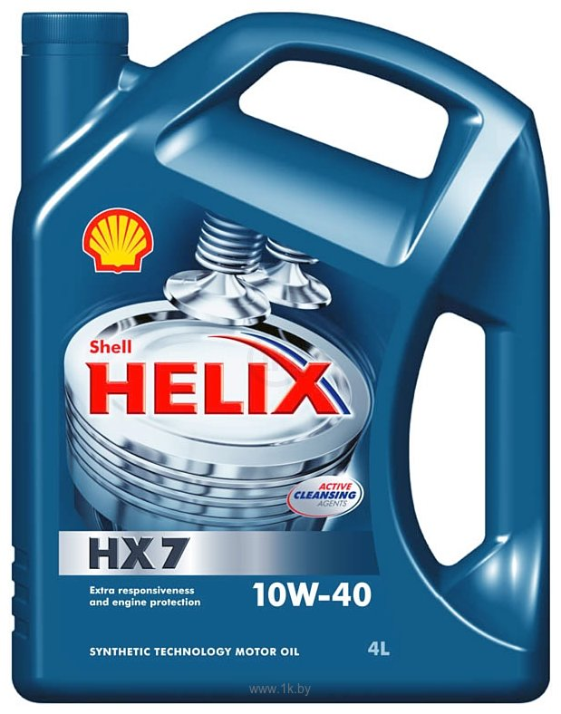 Фотографии Shell Helix HX7 10W-40 4л